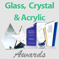 Glass, Crystal and Acrylic Awards - 10% off in February