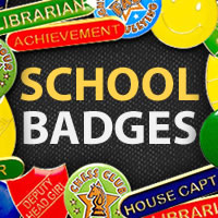 Recognise High Achievers with our Range of School Badges