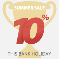 10% Off - Offer Ends Midnight Tonight!