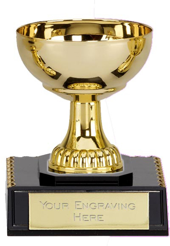 "Westbury Gold Trophy Cup 11cm (4.25"")"