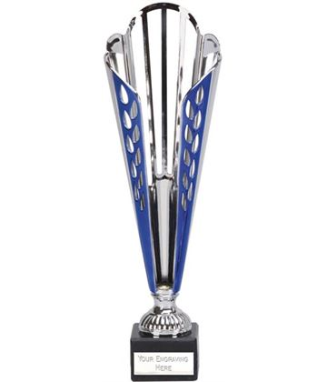 "Grand Deco Cone Trophy Cup on Marble Base 30.5cm (12"")"