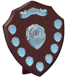 """Silver Annual Presentation Shield 30cm (12"""")"""