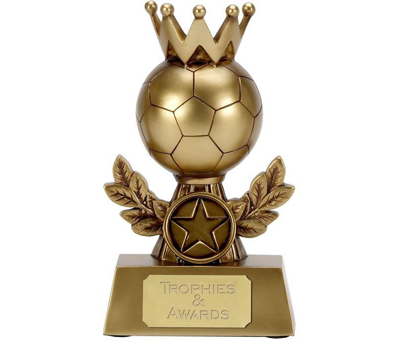 """Laurel Crown Football Trophy 13.75cm (5.5"""")"""