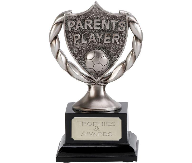 """Satin Silver Parents Player Trophy 17cm (6.75"""")"""