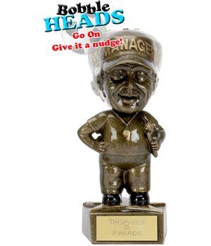 "Managers Bobble Head Award 15cm (6"")"