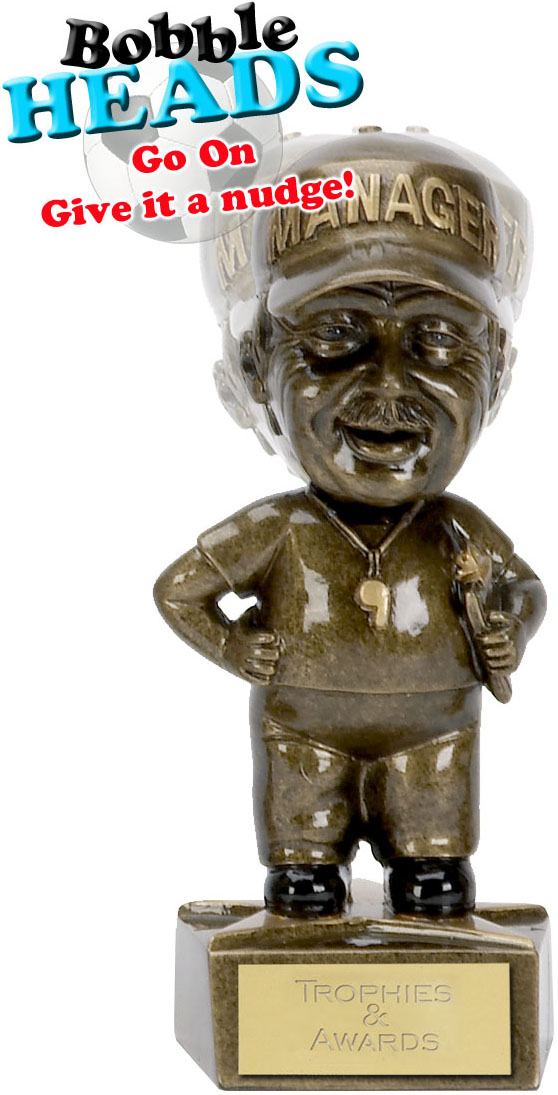 "Managers Bobble Head Award 15cm (6"")"