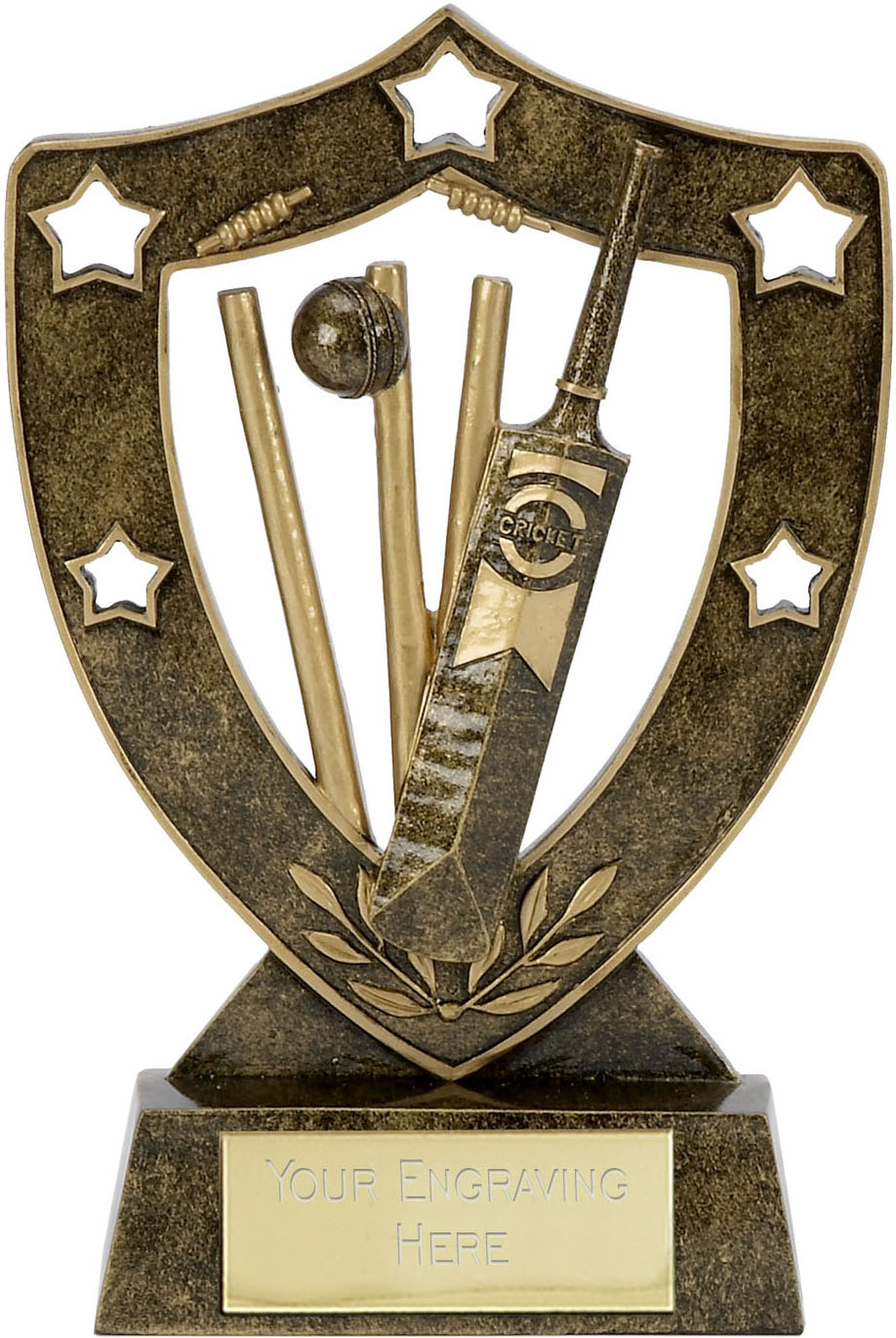 "Shield Star Cricket Trophy 12.5cm (5"")"