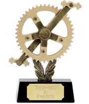 "Cog and Pedals Cycling Trophy 20.5cm (8"")"