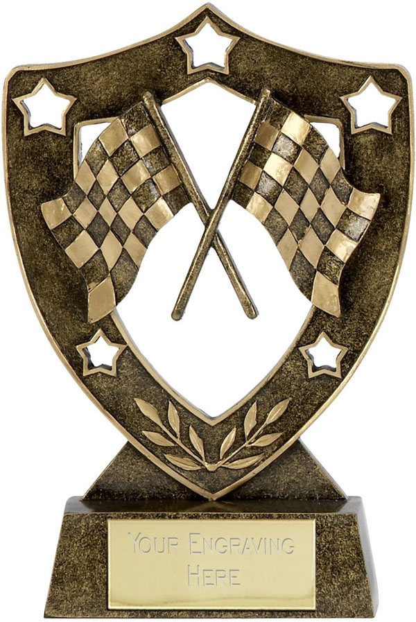 "Motorsport Shield Star 15.5cm (6"")"