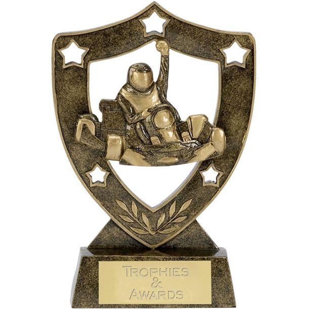 "Karting Shield Star Trophy 20.5cm (8"")"