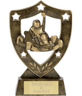 "Karting Shield Star Trophy 15.5cm (6"")"