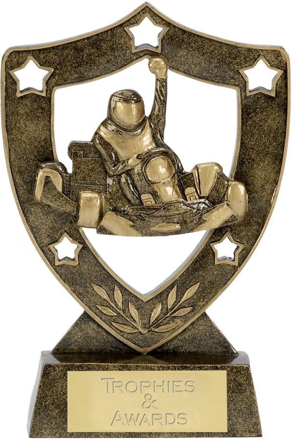 "Karting Shield Star Trophy 15.5cm (6"")"