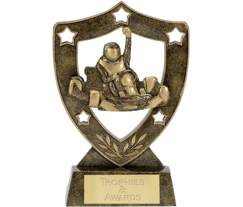 "Karting Shield Star Trophy 12.5cm (5"")"