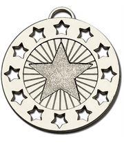 "Silver Constellation 40 Medal 40mm (1.5"")"