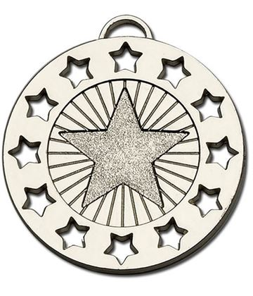 "Silver Constellation 40 Medal 40mm (1.5"")"