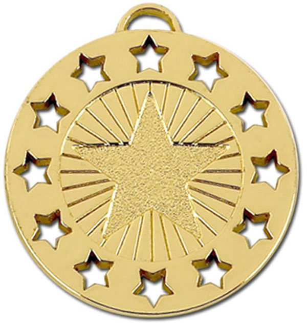 "Gold Constellation 40 Medal 4cm (1.5"")"