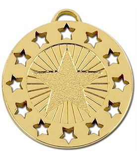 "Gold Constellation 40 Medal 40mm (1.5"")"
