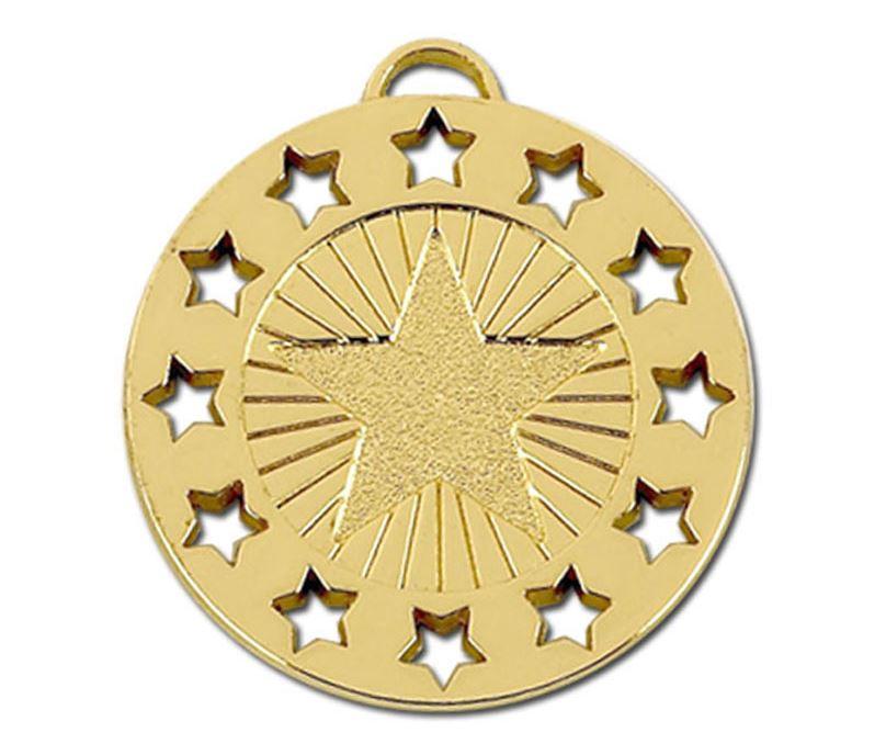 "Gold Constellation 40 Medal 40mm (1.5"")"