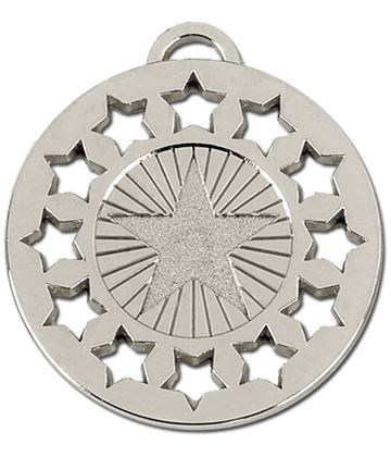 "Silver Constellation 50 Medal 50mm (2"")"