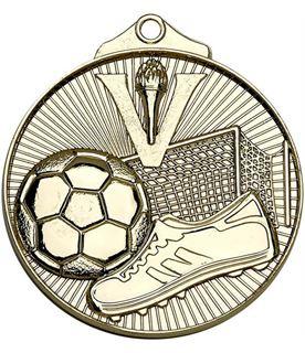 "Gold Horizon Football Medal 52mm (2"")"