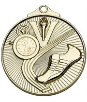 "Gold Horizon Athletics Track Medal 52mm (2"")"