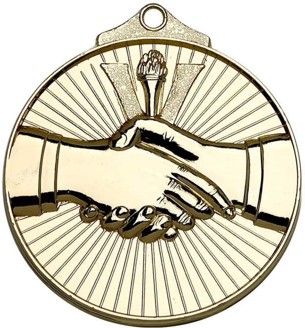 "Golden Horizon Handshake Medal 52mm (2"")"