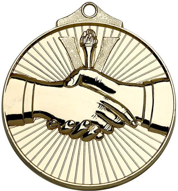 "Golden Horizon Handshake Medal 52mm (2"")"
