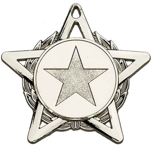 "Silver Hope Star Medal 50mm (2"")"