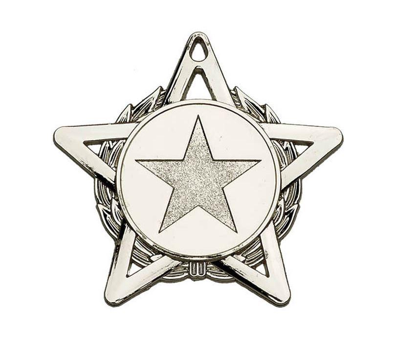 "Silver Hope Star Medal 50mm (2"")"