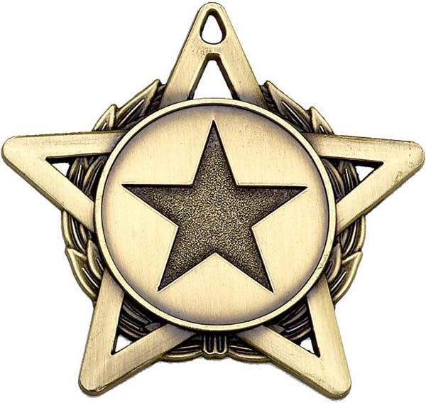 "Bronze Hope Star Medal 50mm (2"")"
