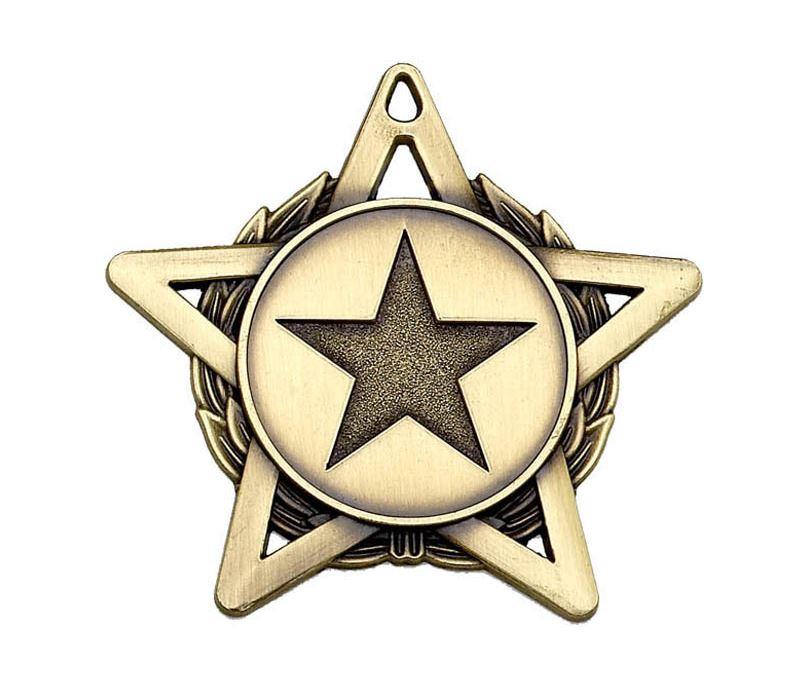"""Bronze Hope Star Medal 50mm (2"""")"""