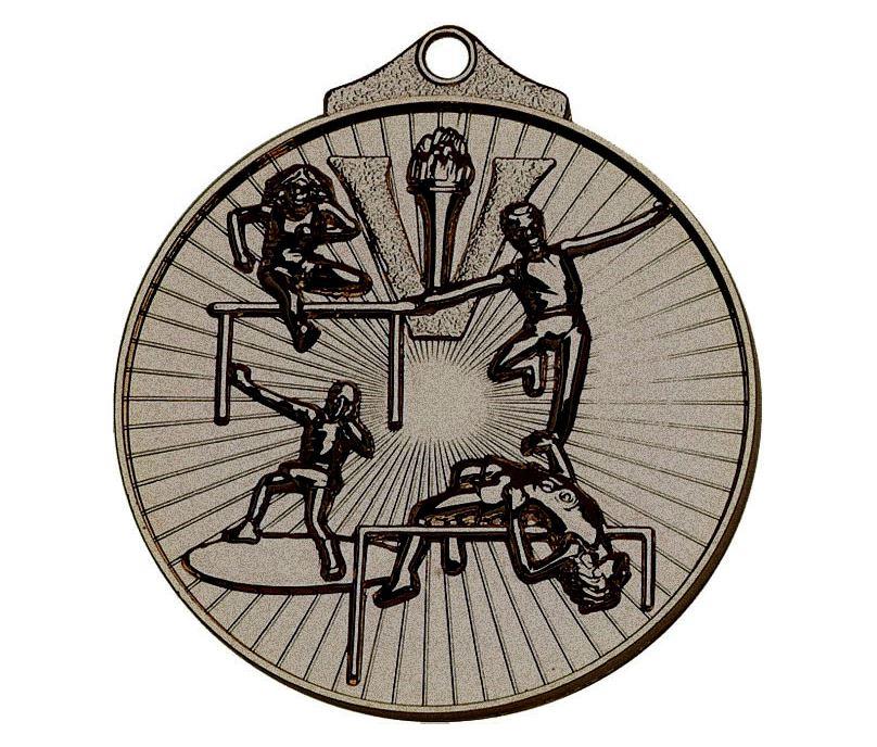 "Bronze Horizon Athletics Track & Field Medal 52mm (2"")"