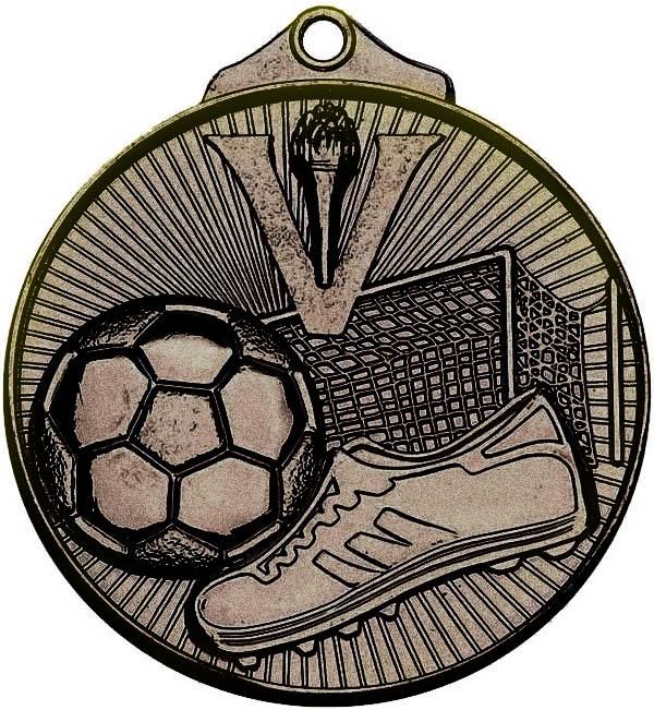 "Bronze Horizon Football Medal 52mm (2"")"