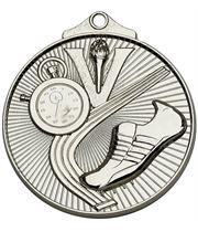 "Silver Horizon Athletics Track Medal 52mm (2"")"