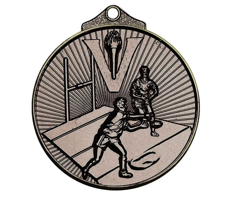 """Bronze Horizon Rugby Medal 52mm (2"""")"""