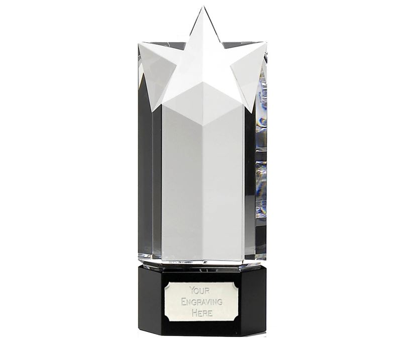 "Optical Crystal Endeavour Star Award 18cm (7"")"