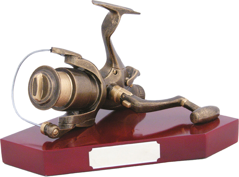 "Angling Reel Trophy 15cm (6"")"