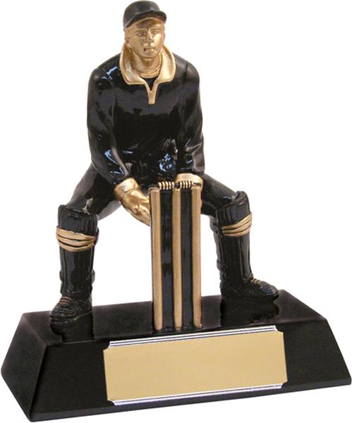 """Cricket Wicketkeeper Trophy 15.5cm (6.25"""")"""
