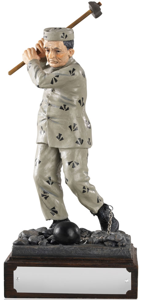 "Addicted to Golf Life Member - Novelty Figure 21cm (8.25"")"