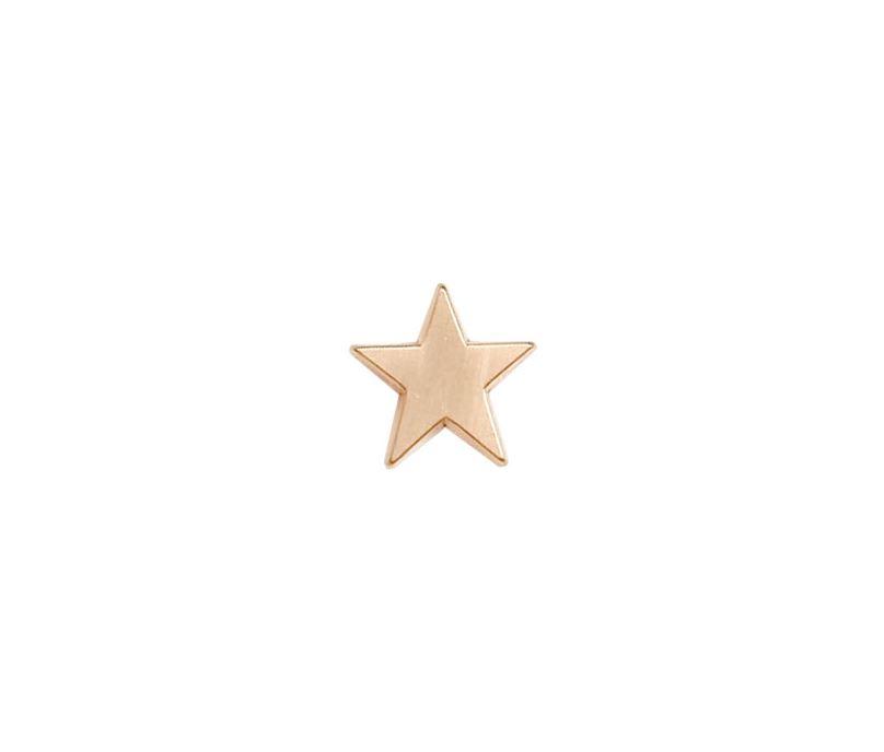 Bronze Star Lapel Badge 16mm