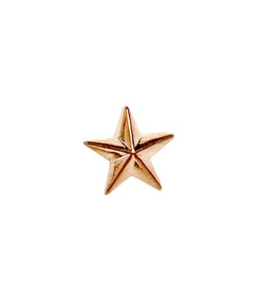 Bronze Star Lapel Badge 8mm