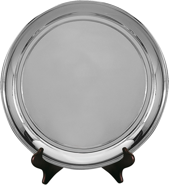 "Old English Silver Plated Salver 23cm (9"")"
