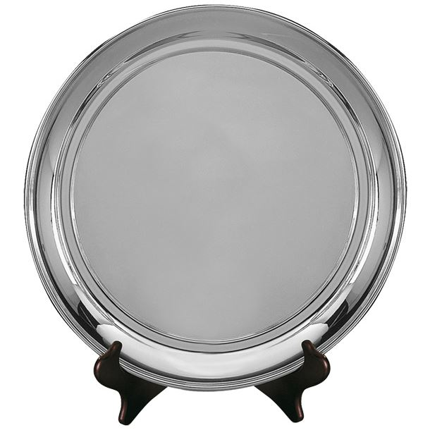 """Old English Silver Plated Salver 27.5cm (11"""")"""