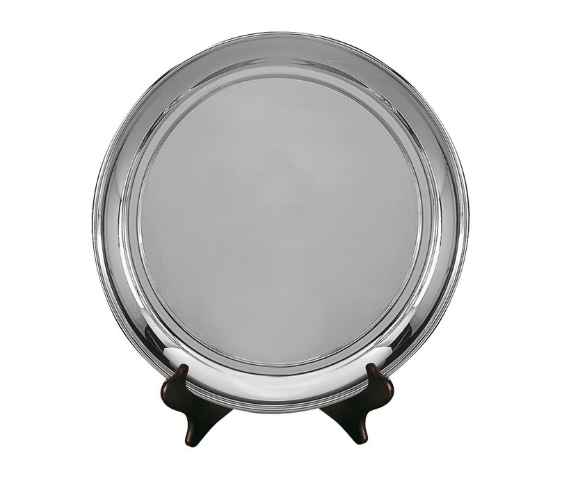 "Old English Silver Plated Salver 27.5cm (11"")"