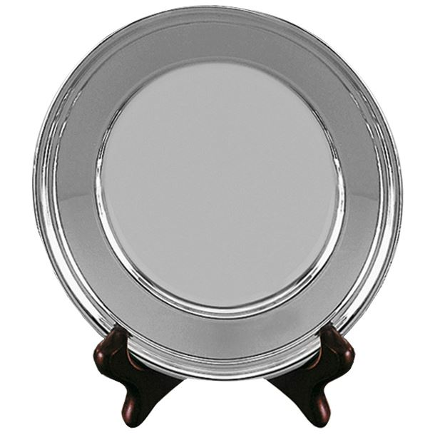 """Old English Silver Plated Salver 15cm (6"""")"""