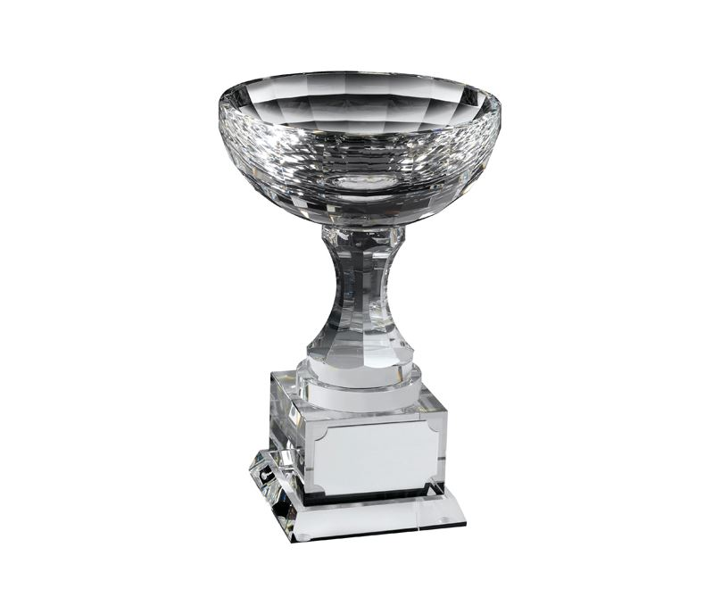 "Optical Crystal Trophy Cups 15cm (6"")"