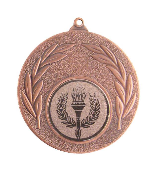"""Bronze Leaf Victory Medal 50mm (2"""")"""