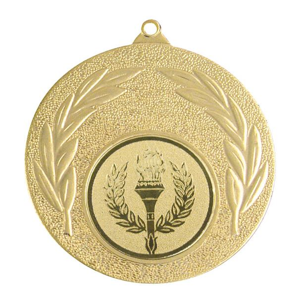 "Gold Leaf Victory Medal 50mm (2"")"