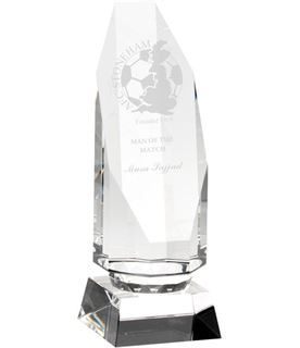 "Octagonal Glass Award 20.5cm (8"")"