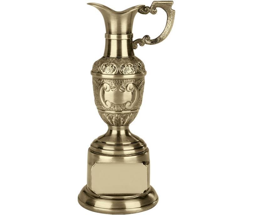 "Resin St Anne's Claret Award in Antique Gold Finish 30.5cm (12"")"